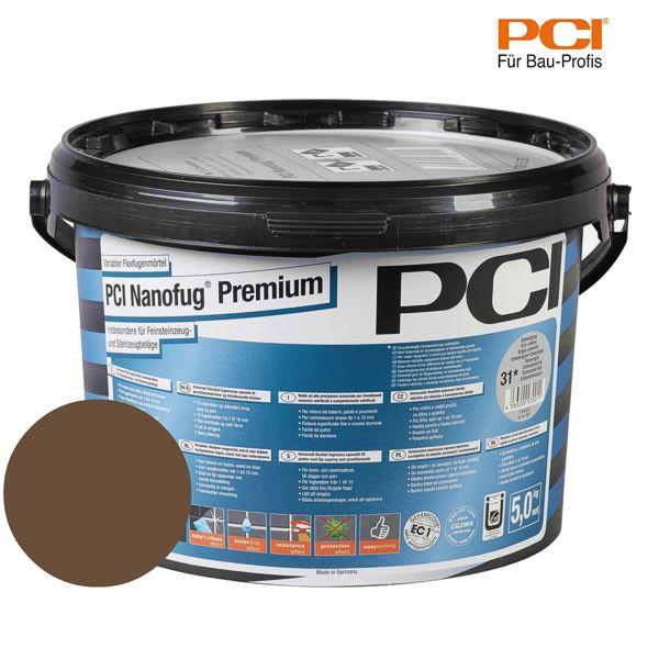 PCI Nanofug Premium mahagoni Fugenmörtel 5 kg