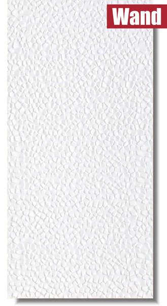 weiße Wandfliese mit strukturierter Oberfläche von Bien