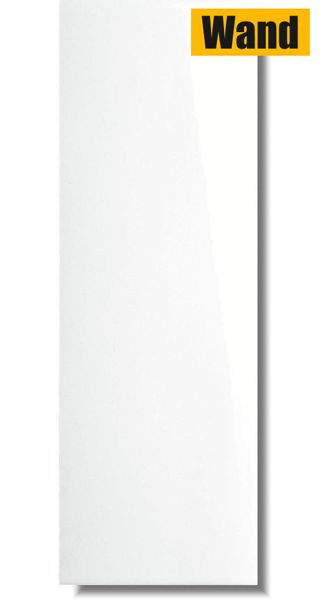 Wandfliese Blancos Brillo weiß glänzend 40 x 120 rektifiziert