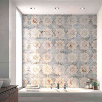 Villeroy & Boch Warehouse Grau Multicolor Dekor 60 x 60 2660 IN61 Rektifiziert