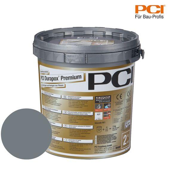 PCI Durapox Premium basalt Epoxidharzmörtel 2 kg