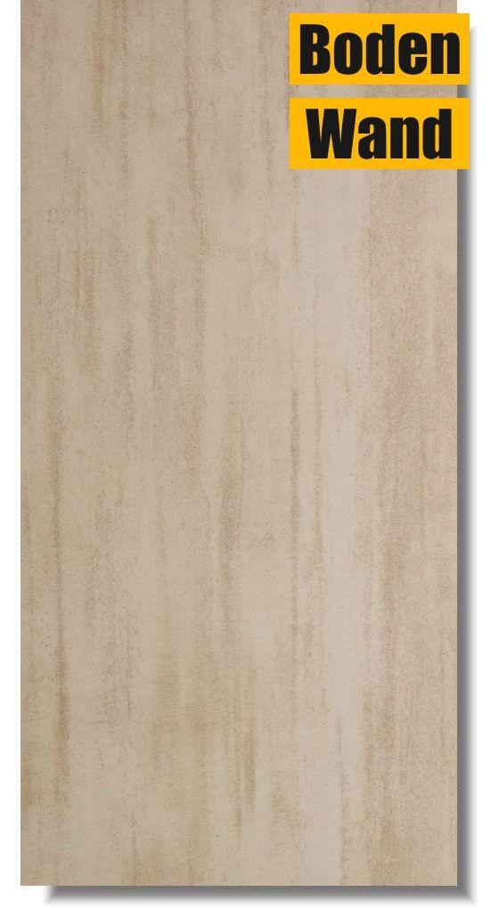 Bodenfliese minos beige 30 x 60 bm4136 rektifiziert von for Fliesen discount