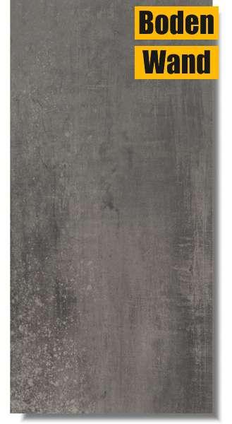 Bodenfliese celaya black 45 x 90 von t trading fliesen for Fliesen discount