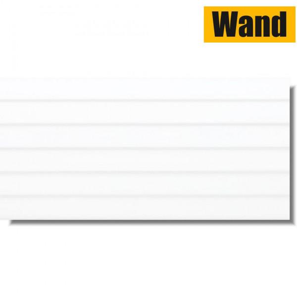 Lamelle Weiß Glänzend 30 x 60 Rektifiziert