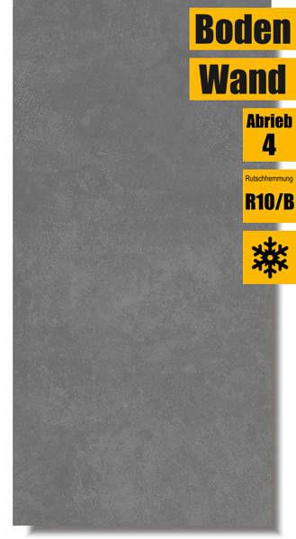 Bodenfliese Ares grey MT587-001-1 von Meissen Keramik
