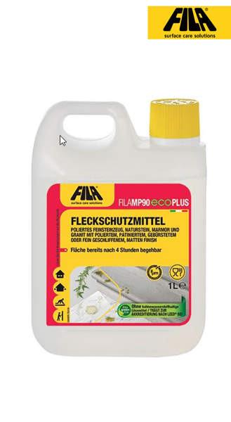 FILA MP90 Eco Plus 1l Fleckschutzmittel für polierte Flächen