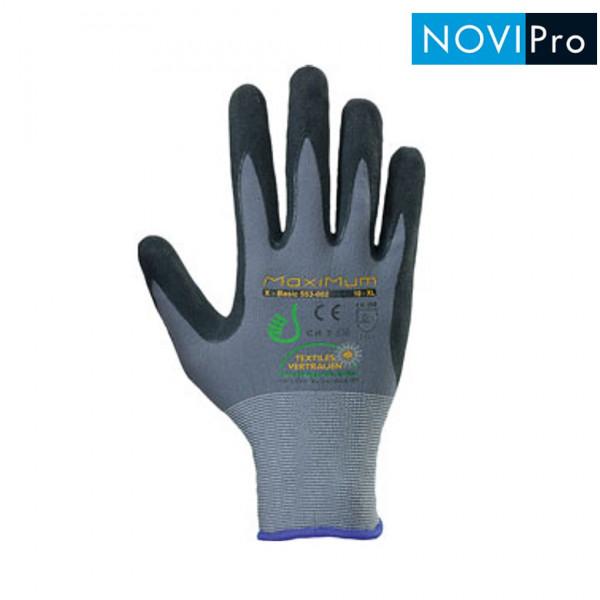NOVIPro Nylon Nitril Handschuhe 1 Paar