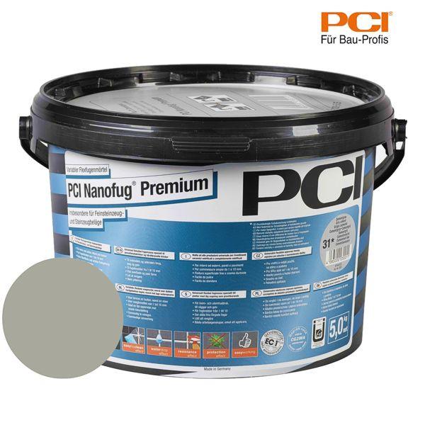 PCI Nanofug Premium sandgrau Fugenmörtel 5 kg