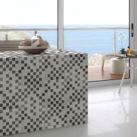 Lines 30 Blanco Mosaico 30 x 30