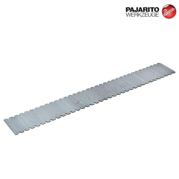 Pajarito Zahnleiste Spezialstahl TKB-A2 180 mm