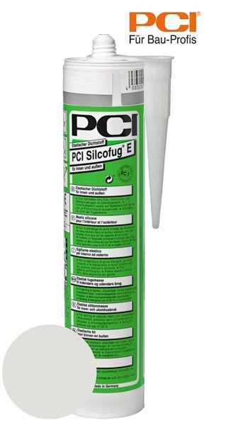 PCI Silcofug E silbergrau Silikon Dichtstoff 310 ml