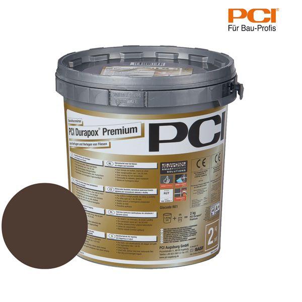 PCI Durapox Premium dunkelbraun Epoxidharzmörtel 2 kg