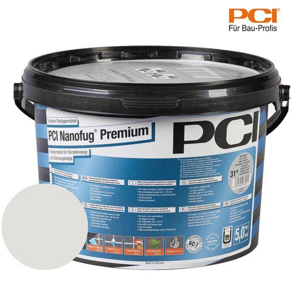 PCI Nanofug Premium silbergrau Fugenmörtel 5 kg