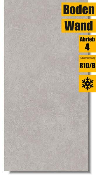 Bodenfliese Ares light grey MT587-004-1 von Meissen Keramik