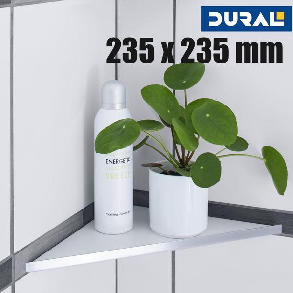 Befliesbare Duschablage TI Shelf TS DNG 2332 Edelstahl Regalboden