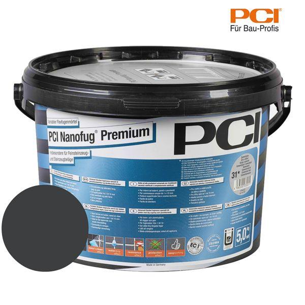 PCI Nanofug Premium schiefergrau Fugenmörtel 5 kg