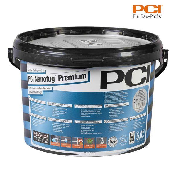 PCI Nanofug Premium weiß Fugenmörtel 5 kg