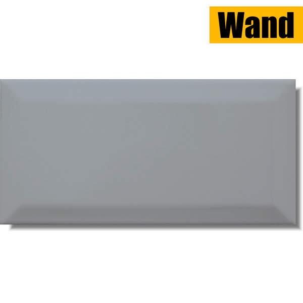 Fliese Metro Facette Grey grau 10 x 20