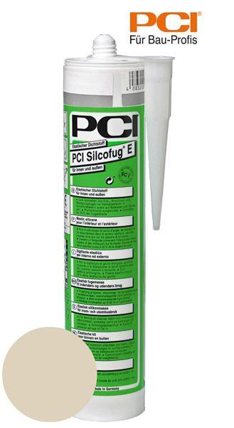 PCI Silcofug E bahamabeige Silikon Dichtstoff 310 ml