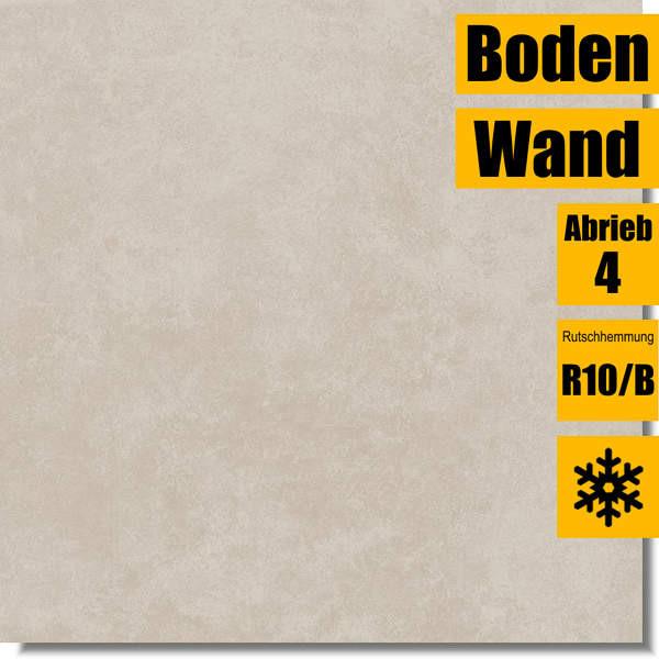 Zementoptik Ares beige für Wand und Boden