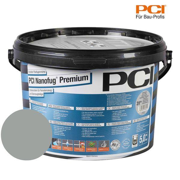 PCI Nanofug Premium zementgrau Fugenmörtel 5 kg