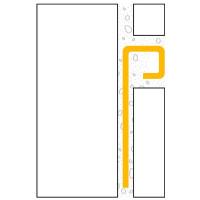 ULTIPRO Quadratprofil Edelstahl V2A Natur 10 mm 2,5 m