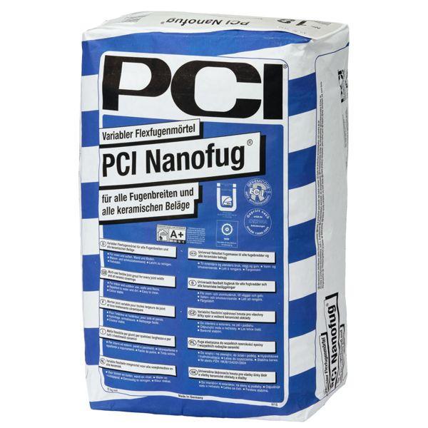 PCI Nanofug 3108 Fugenmörtel Farbe 31 Zementgrau 15 kg