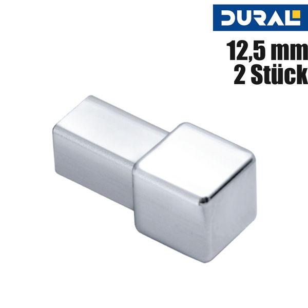 Fliesen Ecke Aluminium Silber Glänzend Eloxiert von DURAL