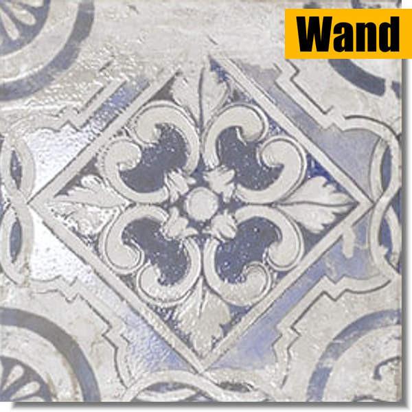 weiße Dekorfliese mit schönen Mustern von Mainzu Ceramica