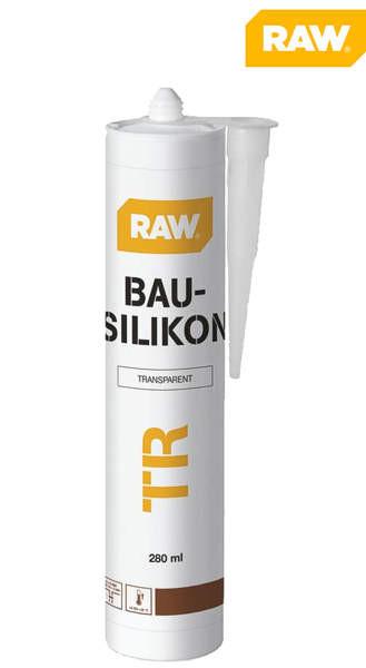 Fugendichtstoff RAW Bau-Silikon transparent 280 ml