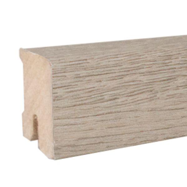 ZIRO Sockelleiste 150 Robinie grau 16 x 40 x 2500 mm