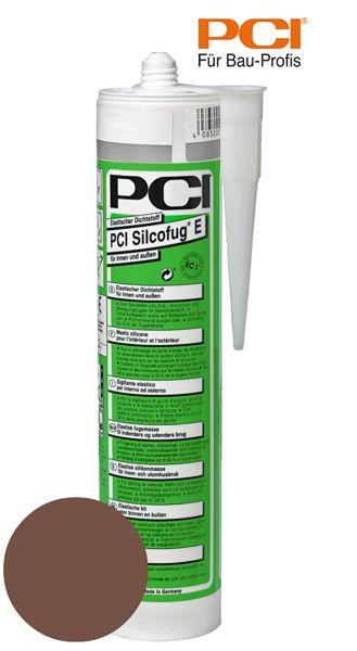 PCI Silcofug E mittelbraun Silikon Dichtstoff 310 ml