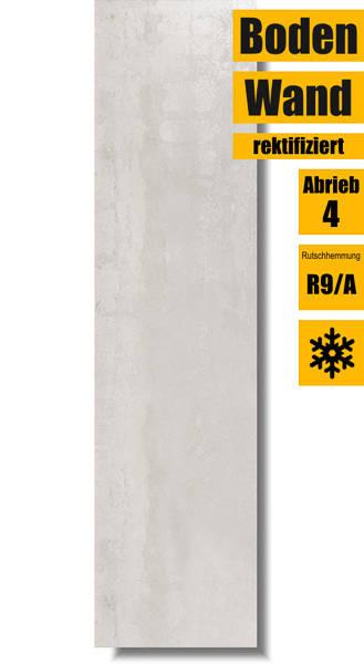 Boden- und Wandfliese Ionic White 30x120 von Ibero Porcelanico