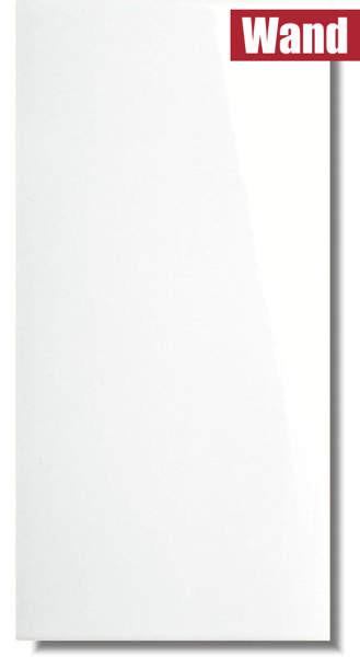 weiße Wandfliese Ice Super glänzend für Küche und Bad