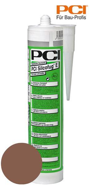 PCI Silcofug E rehbraun Silikon Dichtstoff 310 ml