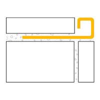 ULTIPRO Quadratprofil Edelstahl V2A Natur 11 mm 2,5 m