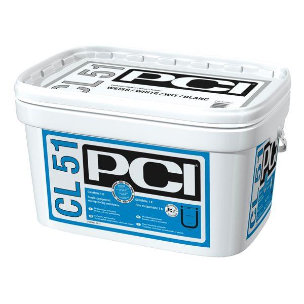 PCI CL 51 Dichtfolie 1K Weiß 15 kg