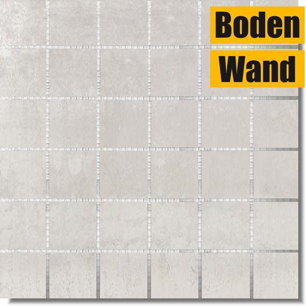 Ionic White Mosaik 30 x 30 rektifiziert