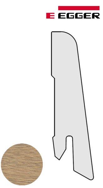 EGGER Sockelleiste L376 Matera Eiche natur 17 x 60 x 2400 mm