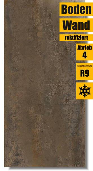 XXL Bodenfliese Ionic Copper oxid 45 x 90 von Ibero Porcelanico