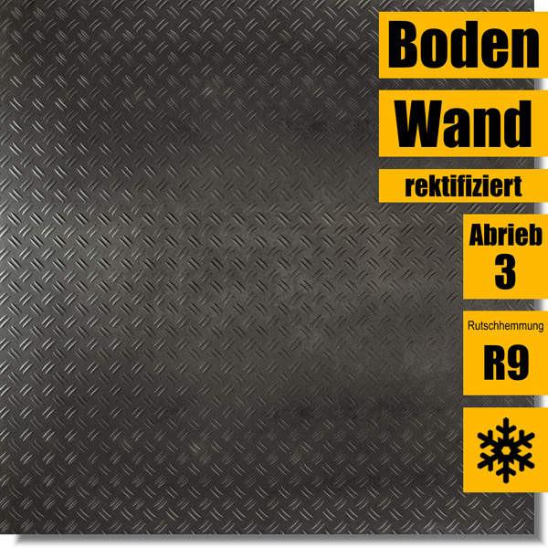 Feinsteinzeug Stage Metallic Grey Boss 60 x 60