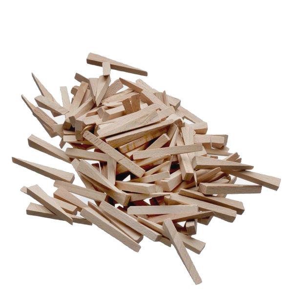 Fliesenkeile aus Holz 500 Stück