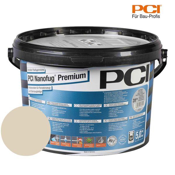 PCI Nanofug Premium bahamabeige Fugenmörtel 5 kg