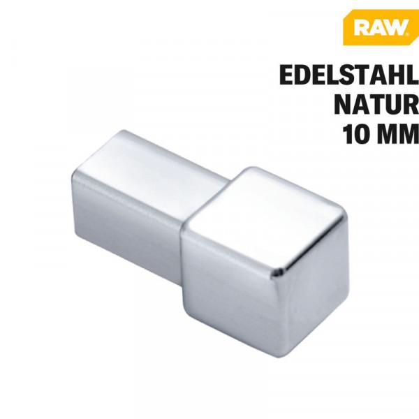 Fliesen Quadratprofil Ecke Edelstahl Natur von RAW