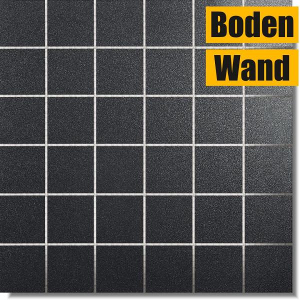 Smart Lux T5 Black Mosaik 5 x 5 (30 x 30) Rektifiziert