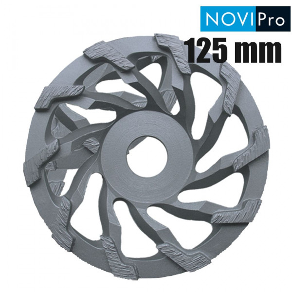 NOVIPro Diamant-Schleiftopf Universal 125 x 22,23 mm