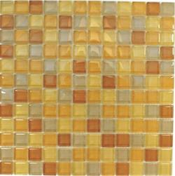 Glasmosaik Beige-Mix 2,3 x 2,3