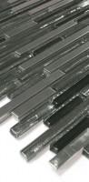 Glas-Metall Mosaik LAG58-4 Schwarz
