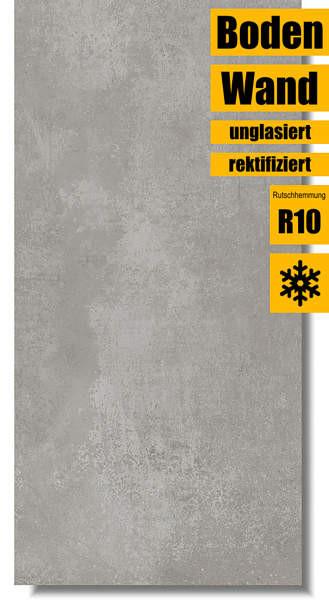 Villeroy & Boch Atlanta concrete grey 30 x 60 2394 AL60 rektifiziert