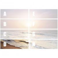 Hexa Dekor Sunrise D 25 x 75